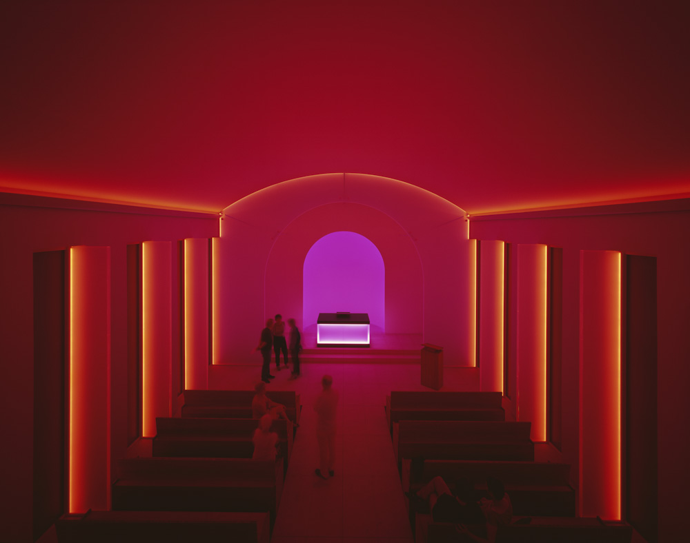 James Turrell light installation at Dorotheenstädtischer Friedhof, Berlin