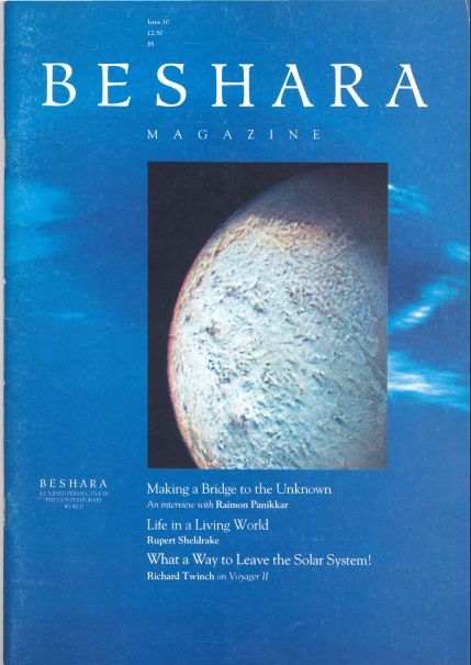 Beshara Magazine Issue 10 Cover