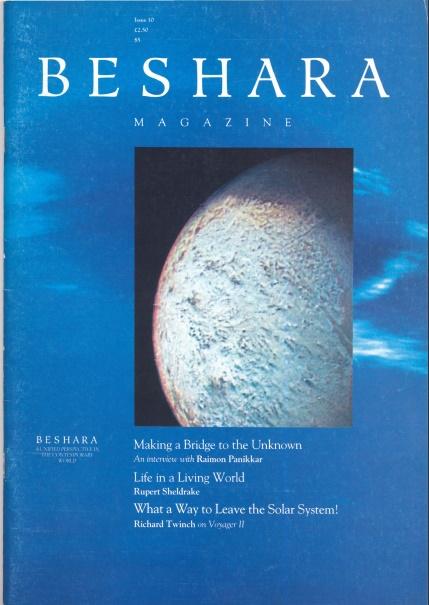 Beshara Magazine Issue 10 Cover