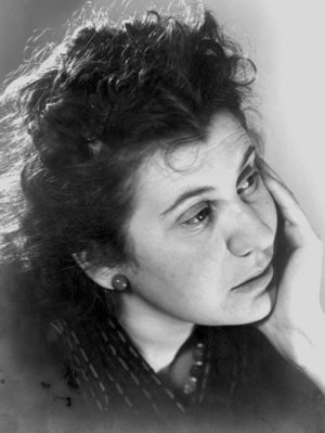 Etty Hillesum. Photograph from the collection at the Jewish Historical Museum, Amsterdam.