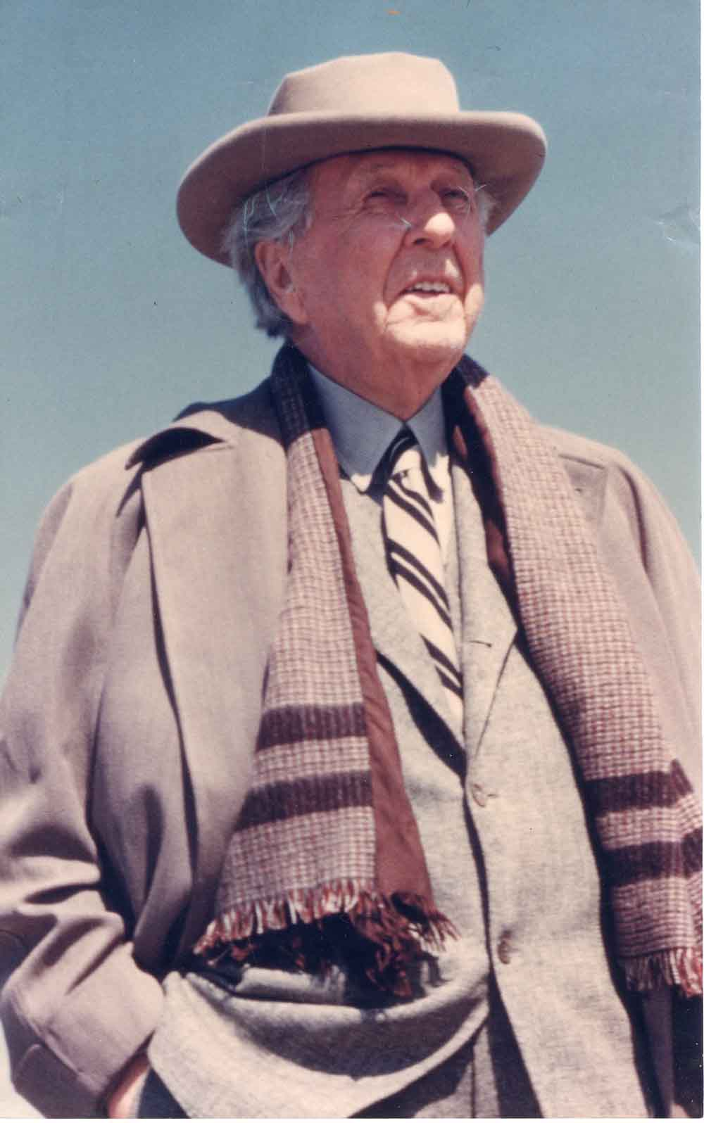 Frank Lloyd Wright. Photograph courtesy of the Western Pennsylvania Conservancy.