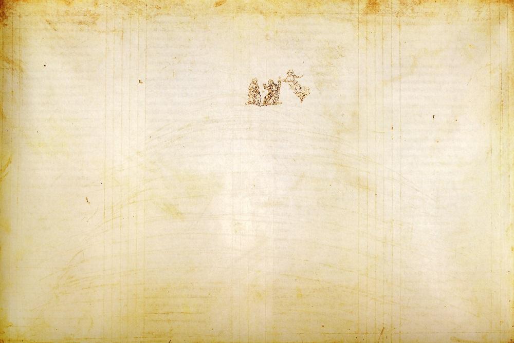 Sandro Botticelli: Illustration for Canto XXXII.
