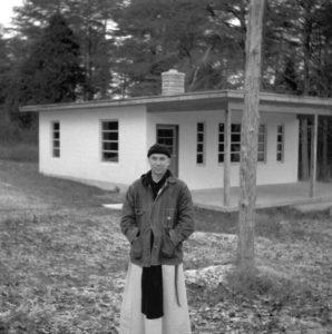 Photograph of Thomas Merton.