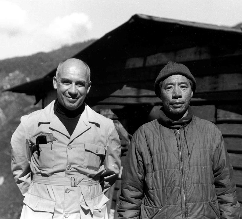 Merton with Chatral Rinpoche. Used with permission of the Merton Legacy Trust and the Thomas Merton Center at Bellarmine University.