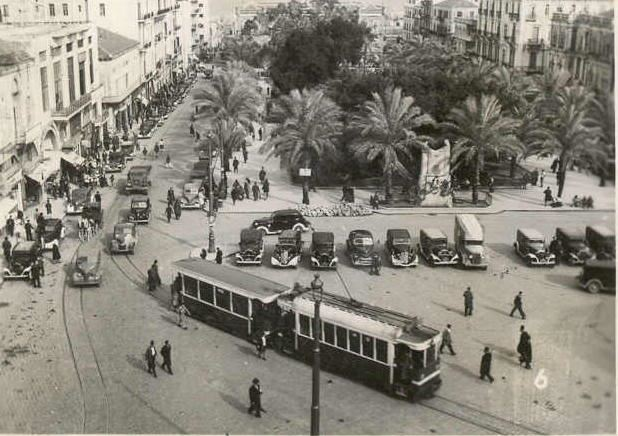 Martyrs' Square, Beirut, 1942. Supplied by OldBeirut.com