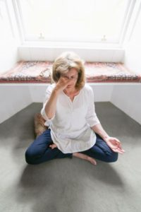 Pranayama – breathing exercises which work with the life force through the breath.