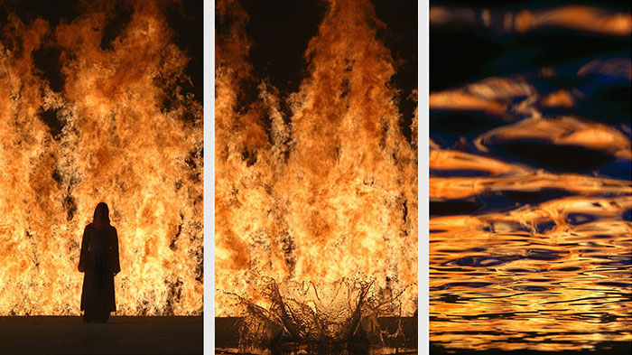 Bill Viola: Fire Woman (2005)
