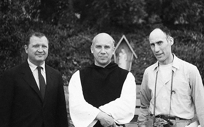 Ad Reinhardt, Thomas Merton, Robert Lax